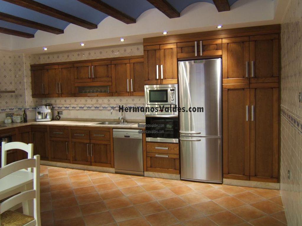 Productos muebles de cocina cocinas rusticas ref for Armarios de cocina en kit