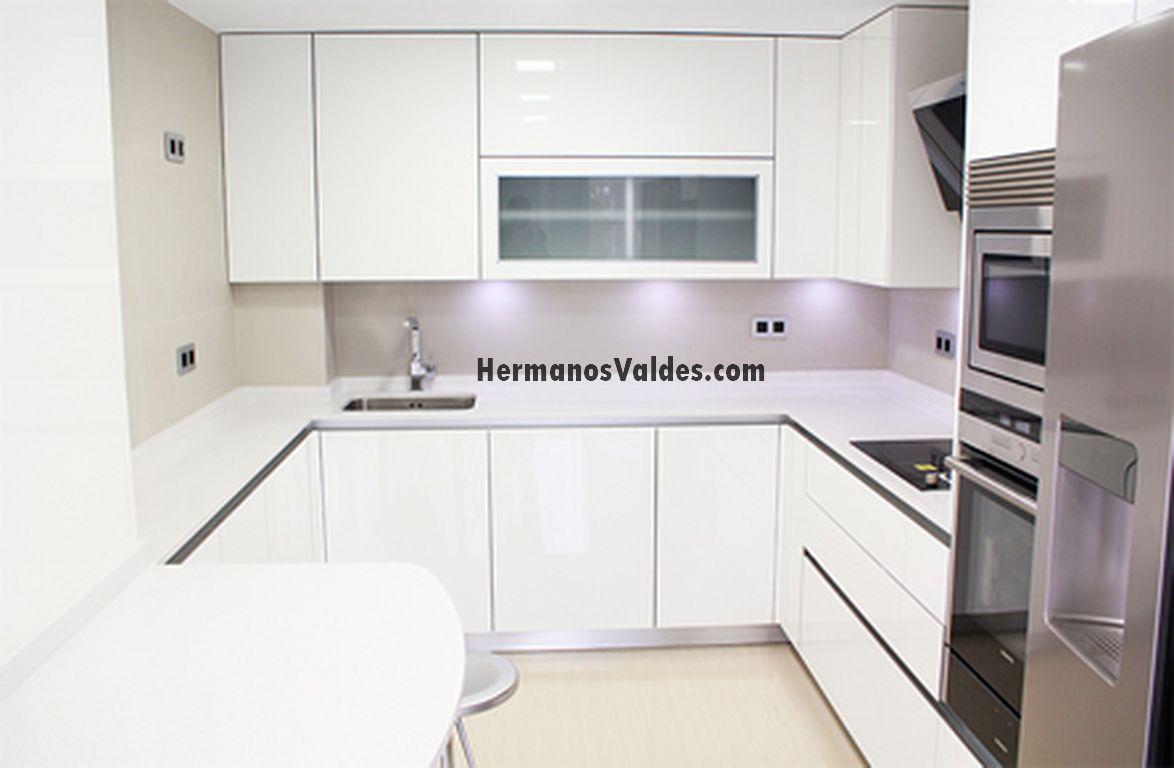 Productos muebles de cocina cocinas en kit ref 4195 hermanos vald s armarios y - Cocinas en kit ...